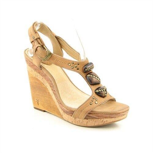 Frye  Bridget Ornament Wedge Women's Sandals    238 NIB 17a1fa