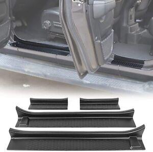 4-Door JeCar Door Sill Guards Door Entry Protectors Exterior Accessories for 2018 2019 2020 Jeep Wrangler JL /& 2020 Jeep Gladiator JT