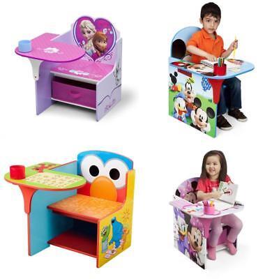 Silla Escritorio para niños con Contenedor de Almacenamiento y Portavasos  NUEVO | eBay