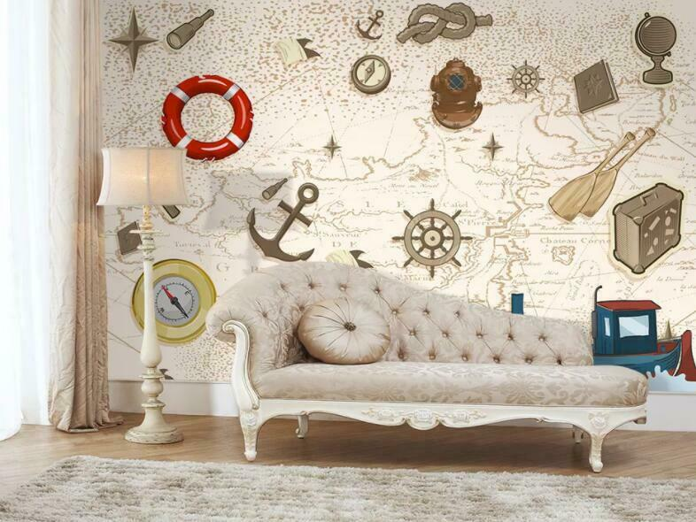3D Retro Adventure I1051 Wallpaper Mural Sefl-adhesive Removable Sticker Wendy