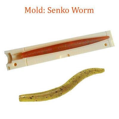 "Do-It 96020 Soft Bait Yamamoto Senko 6/"" FW Plastic Fishing Lure Mold"