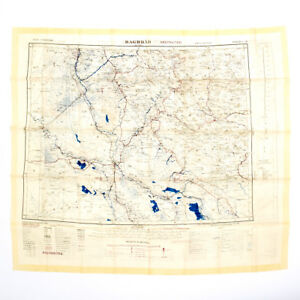 image is loading british gulf war fabric map of baghdad amp