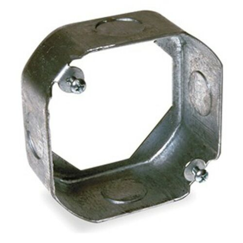"""4/"""" Octagon Round Electrical Extension Box Knock Outs KO/'s ~Raco 128 50 pc case"""