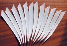 1 DOZ 6 1/4 INCH MEDIEVAL STYLE FLETCHES suit longbow arrows, archery