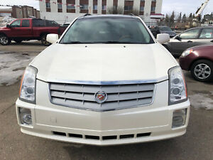 2009 CADILLAC SRX ALL WHEEL DRIVE FULLY LOADED LEATHER HEATED