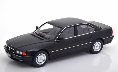 1:18 KK-Scale BMW 740i E38 1.Series 1994 black-metallic