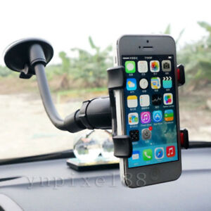 Car-AUTO-ACCESSORIES-Rotating-Phone-Windshield-Stand-GPS-Holder-Universal-360