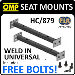 HC-879-OMP-WELD-IN-UNIVERSAL-SEAT-RAILS-MOUNT-SUBFRAME-for-BUCKET-RACE-SEATS