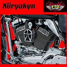 Kuryakyn Chrome Slotted Head Bolt Covers for 99-16' Touring & 09-16' Trikes 7260