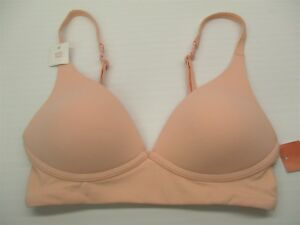 new-GILLIGAN-amp-O-039-MALLEY-Women-039-s-Size-XS-Lightly-Lined-Pink-Wire-Free-Bra-BR1556