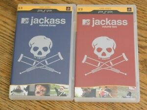 Jackass-Volume-Two-amp-Three-Sony-PlayStation-PSP-Videos