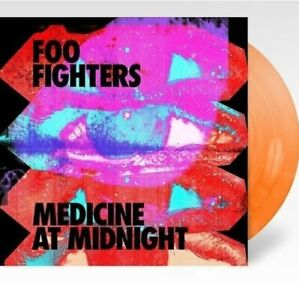"FOO FIGHTERS ""Medicine at midnight"" LP exclusive orange vinyl - LTD - S/S"