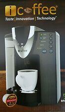 iCoffee DaVinci Single-Serve K-Cup Coffee Maker, Black, RSS300-DAV