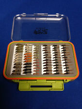 72 Diawl Bach / LEPRE's orecchie in Fly Box-TROTA MOSCHE-Volo pesca Mosche