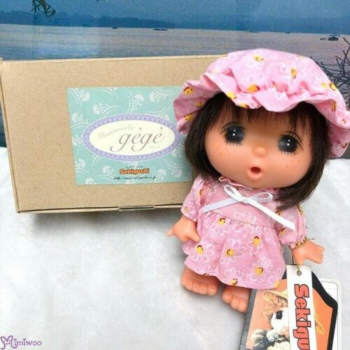 Sekiguchi GeGe 14cm Doll Dress with Pink Cap ~ RARE ~ FREE Ship Worldwide ~