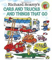 Richard Scarry's Cars And Trucks And Things That Go By Richard Scarry, Hardcover on sale
