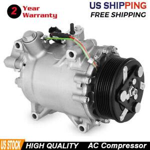 A//C Compressor for Honda Acura ILX RDX 2.3L 2.4L 07-14 CRV 4920 4921 4990