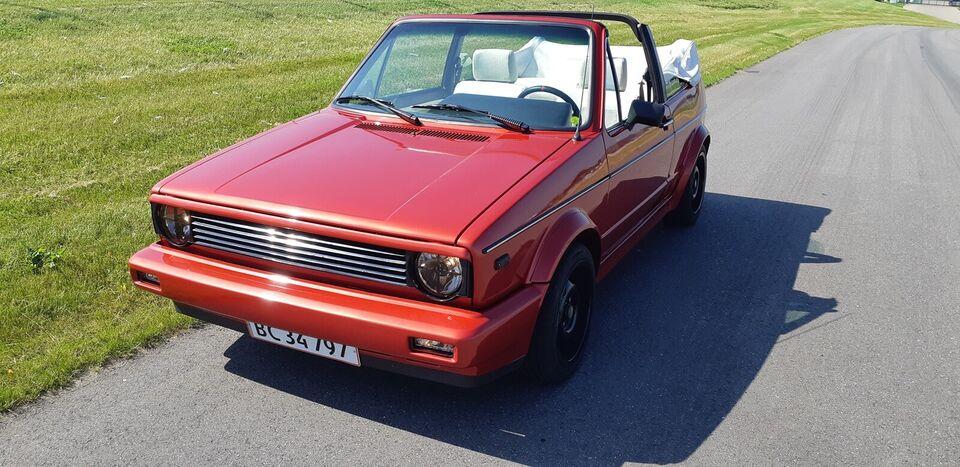VW Golf I, 1,6 Cabriolet, Benzin