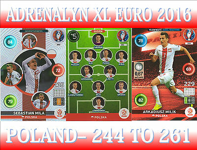 Panini Adrenalyn Xl Uefa Euro 2016-elija su equipo de Turquía Tarjetas de 406 a 423