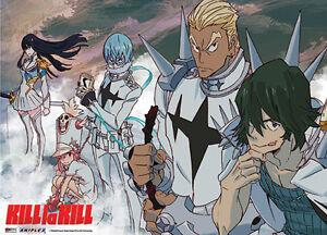 Kill La Kill Matoi Ryuuko Anime Manga Wallscroll Poster Kunstdrucke Bider Drucke