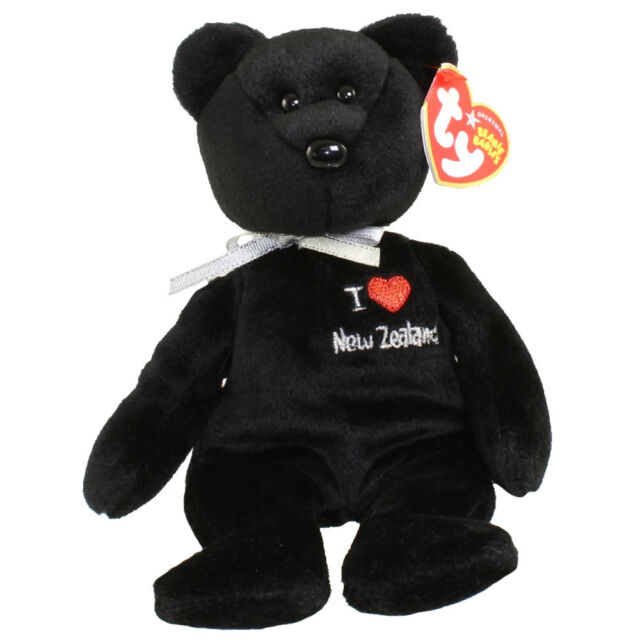 Ty Beanie Babies I Love Zealand - Bear Asia-pacific for sale online ... fe6380b787be