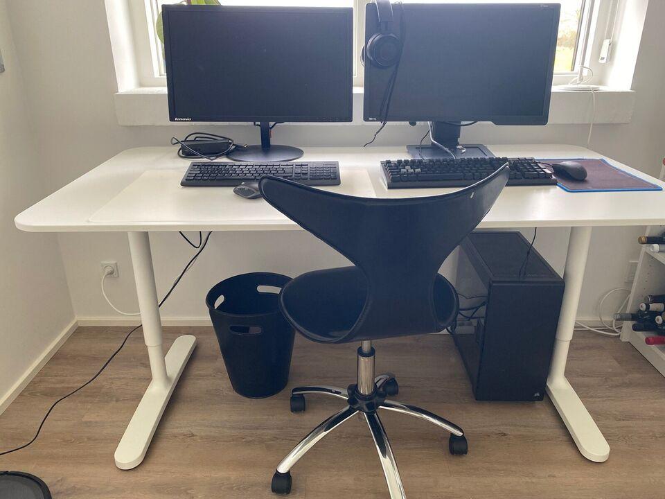 Skrive-/computerbord, Ikea, b: 160 d: 80 h: 120