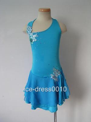 Glamorous Figure Skating custom Ice Skating Dress  #5220 size XL