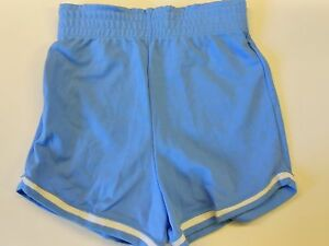 NOS-Vtg-039-70-039-s-Rawlings-Running-Gym-Shorts-Blue-amp-White-Size-Small-25-034-27-034-USA