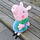 New Peppa Pig Stuffed Figures Toy Doll 19CM/7.5inch GEORGE Lovely Xmas Gift