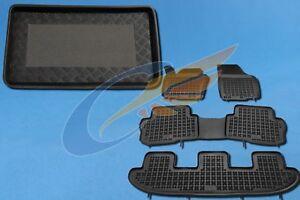 Gummi-Fußmatten+Kofferraumwanne SEAT ALHAMBRA 2 II ab 2010 5 Sitze