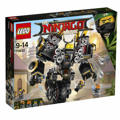 Lego Ninjago 70632 Quake Mech 1202 Pieces NEW Sealed