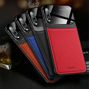 For-Samsung-Galaxy-Note-10-Plus-S9-Leather-Shockproof-Protective-Slim-Case-Cover
