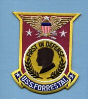 Cv-59 Cva-59 Avt-59 Uss Forrestal Us Navy Aircraft Carrier Ship Squadron Patch