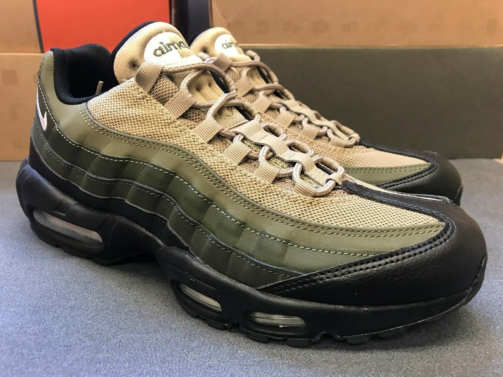 huge discount ac8e5 eba85 Sizw NIKE AIR MAX 95 ESSENTIAL 'Cargo Khaki' 749766-024 10  nvyofb3124-Athletic Shoes