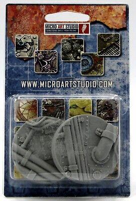 Micro Art Studio 25mm Pipeworks Bases 5 Brand New B03521