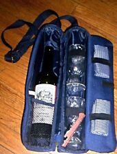 PICNIC WINE TOTE INSULATED BAG WITH SHOULDER STRAP