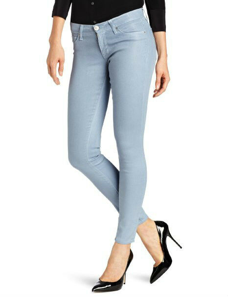 NWT HUDSON JEANS WOMEN Sz26 KRISTA SUPERSKINNY STRETCH WAX IN CAN'T YOU SEE