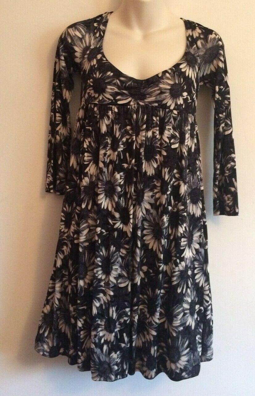 nyA R.E.D. VALENTINO UK10 (IT42) Sunflåger Print Mini Dress Aldrig använt