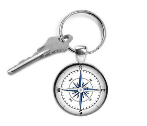 Compass-Keyring-Gifts-for-Him-Gifts-for-Her-Key-Chain