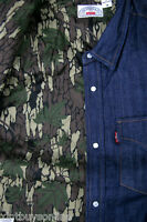 Supreme X Levi's Western Denim Shirt With Lining Supreme Levi's Made In Usa