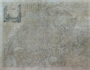 Cartina Svizzera Geografica.Stampa Antica Carta Geografica Svizzera Cartina Mappa Svizzera Con 13 Cantoni X9 Ebay