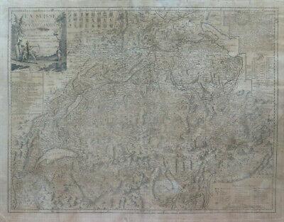 Svizzera Cartina Geografica Cantoni.Stampa Antica Carta Geografica Svizzera Cartina Mappa Svizzera Con 13 Cantoni X9 Ebay
