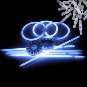100-Knicklichter-200-x-5-mm-200-Teile-Leuchtstaebe-Weiss