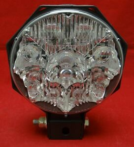 Details About Truck Lite 07382 Auxiliary Spot Lamp For Light Bars Snow Plows Off Road 24v