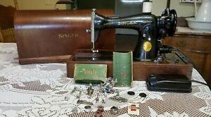 Singer-15-91-Sewing-Machine-1948-Bentwood-Case