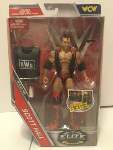 WWE Elite Series 51 Mattel Scott Hall NWO Outsiders Rouge /& Noir Wolfpack