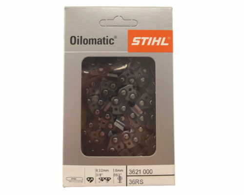 2x63cm Stihl Rapid Super Kette für Stihl 038 Motorsäge Sägekette 3//8 1,6