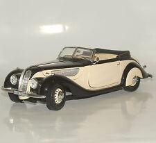 Guiloy clásico bmw 327 cabriolet año de fabricación 1937 rareza negro beige, 1:18, w08