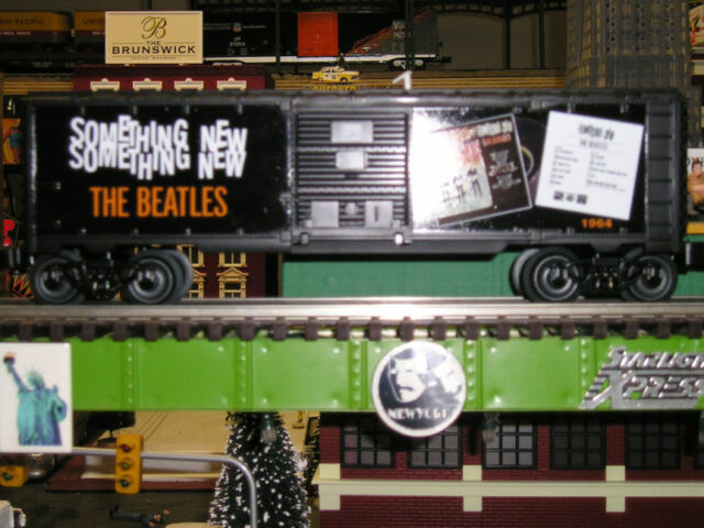"Beatles""O""Gauge Train Lionel Beatles Something New Box Car Lionel Trains"