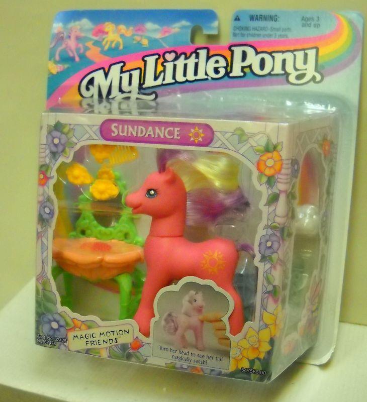 NIP 85 RARE Vintage NIP  Hasbro My Little Pony Sundance 5f58e7